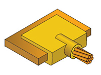 CADWELD Molds for Cable to Busbar Welded Electrical Connections
