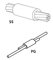 Horizontal Splice Connection Molds - SS/PG - 1