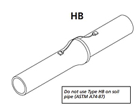 Horizontal Cast Iron Surface Conductors - HB